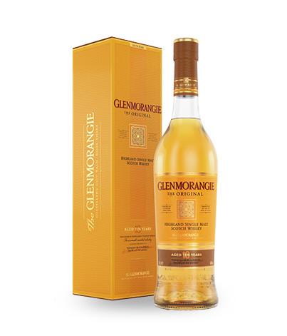 1 Bouteille de Whisky Glenmorangie The Original - 10 ans d'âge, 70 cl