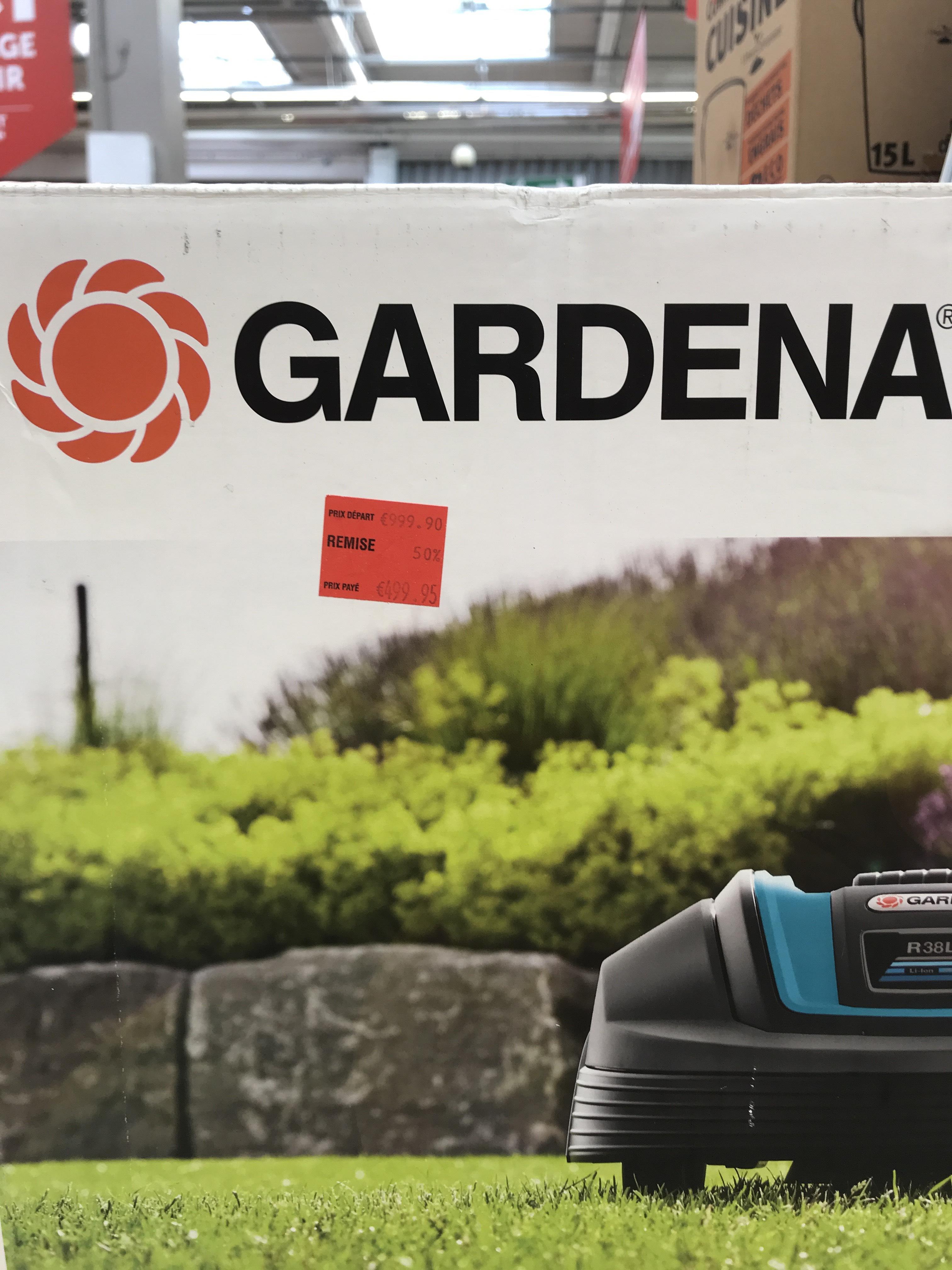 Tondeuse robot Gardena - Quetigny (21)