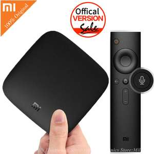 Box TV Android Xiaomi Mi Box 3 - Cortex-A53, 2 Go de RAM, 8 Go ROM, Android TV 6.0, Prise EU