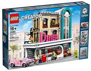 Jeu de construction Lego Creator Downtown Diner (10260)