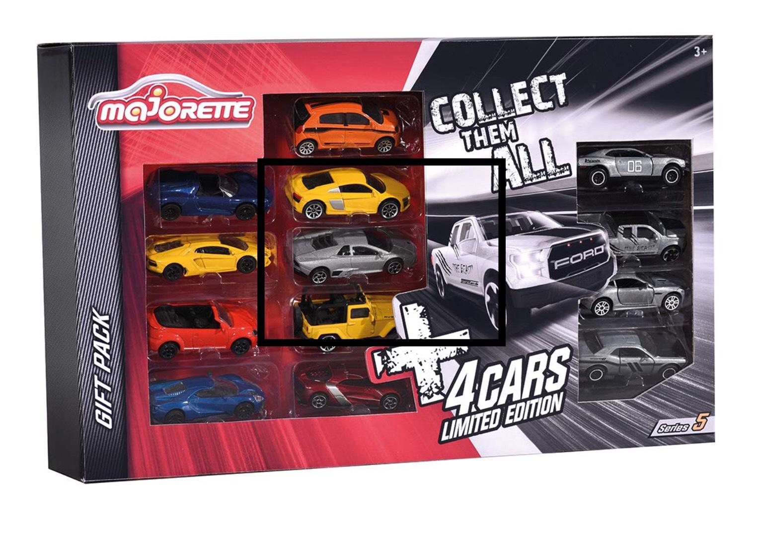 13 petites voitures échelle 1/64 Majorette
