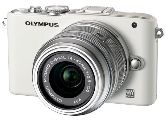 Olympus PEN E-PL3 + Objectif M.ZUIKO Digital 12-50 mm