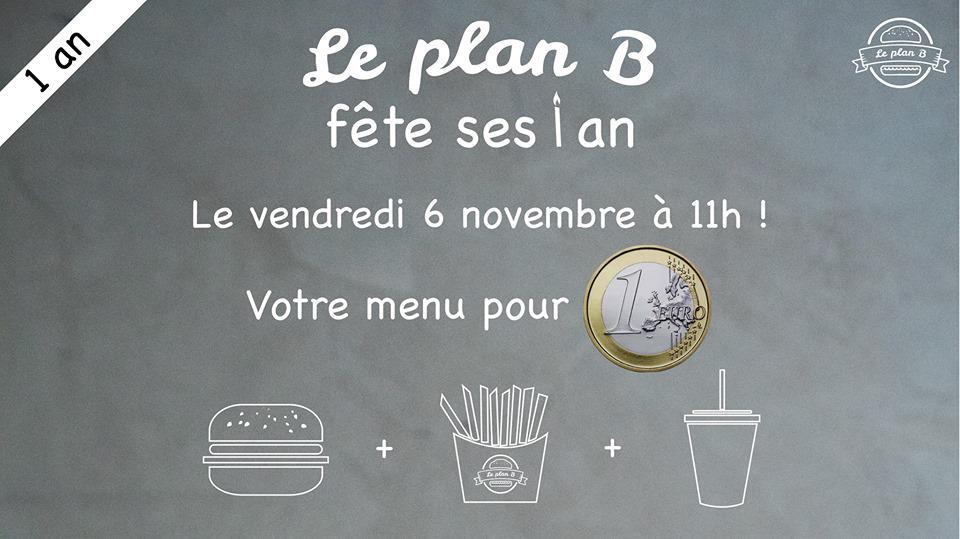 Menu Burger + Frites + Boisson
