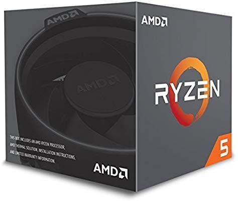 Processeur AMD Ryzen 5 2600X - 3.6 GHz, Socket AM4