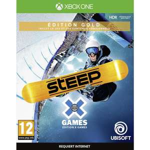 Steep: X-Games - Edition Gold sur Xbox One et PS4