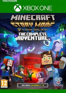 Minecraft Story Mode : The Complete Adventure sur Xbox One (Dématérialisé)
