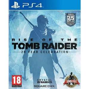 Rise Of The Tomb Raider 20 Year Celebration sur PS4