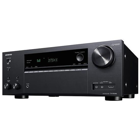 Ampli Onkyo TX-NR686 - 7.2 canaux, Dolby Atmos, THX, WiFi, 7 x 165W, Noir ou Argent