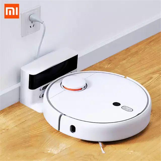 Aspirateur robot Xiaomi Mijia Mi Robot 1S - Blanc (Entrepôt Espagne)