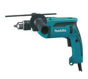 Perceuse à percussion Makita HP1640 -  680W, 2 kg, 2800 tours