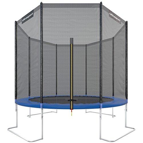 Trampoline de Jardin Jumper avec tapis de saut & filet de sécurité - Ø 305 cm