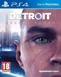 Detroit Become Human sur PS4 + Magazine Century Detroit offert