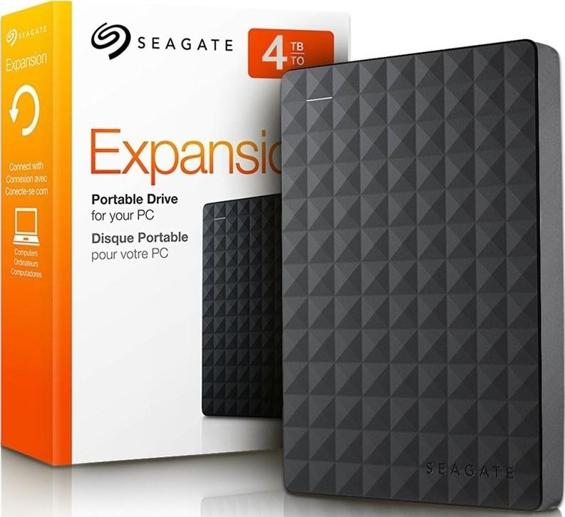 """Disque dur externe 2,5"""" Seagate Expansion  STEA4000400 - 4To, USB 3.0, Non-soudé"""