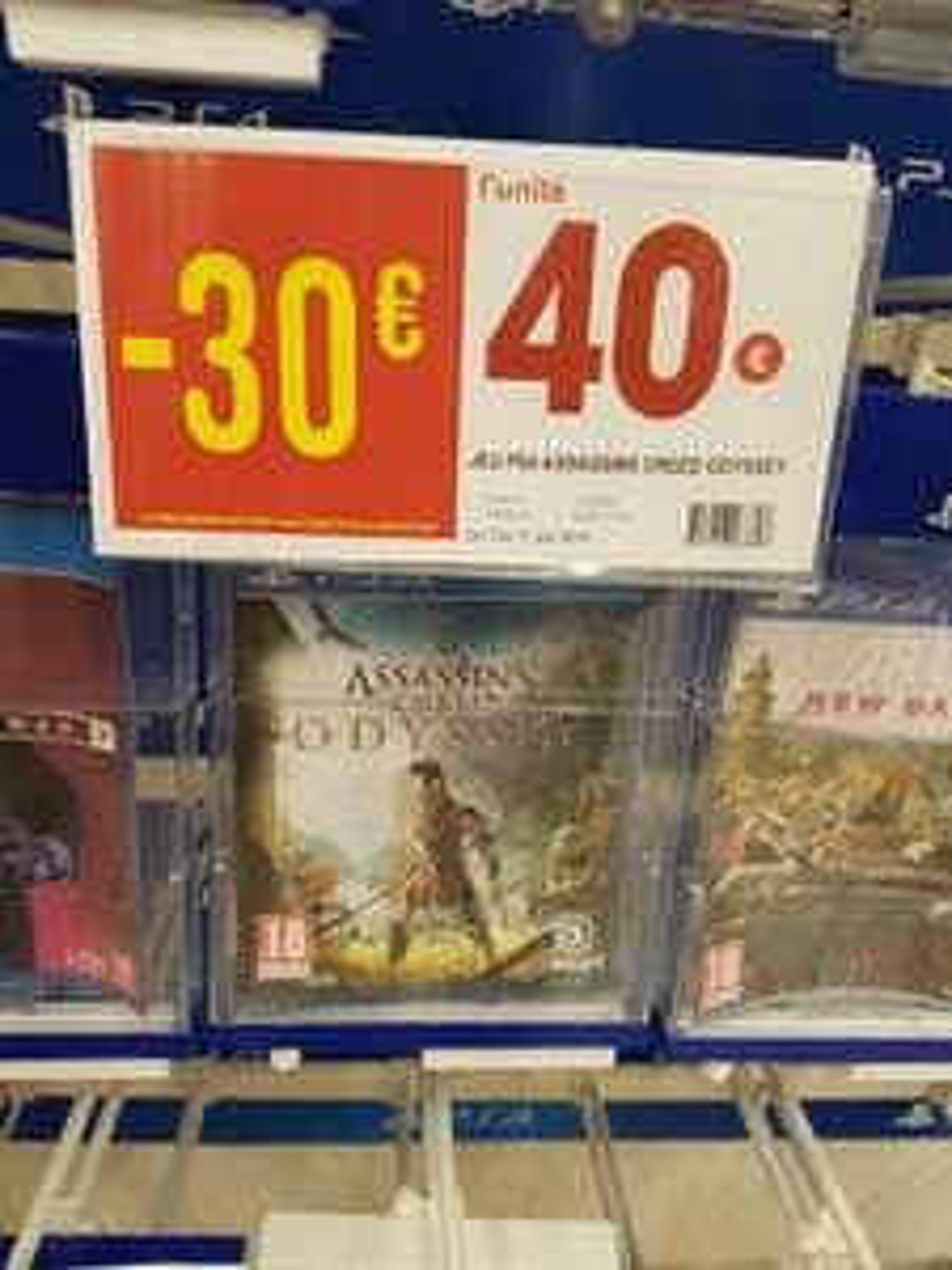 Assassin's Creed Odyssey sur PS4 - Fontaine-lès-Dijon (21)
