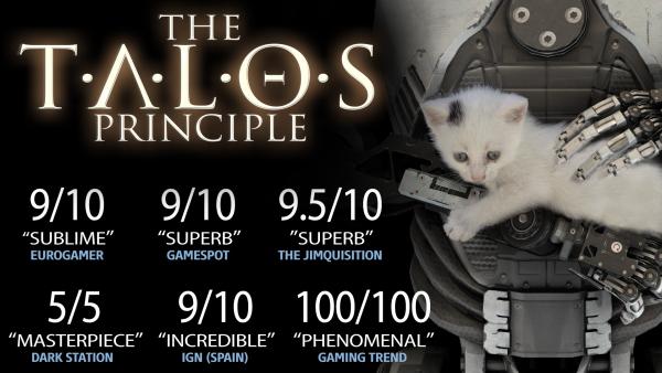 The Talos Principle sur PC (Dématérialisé, Steam)