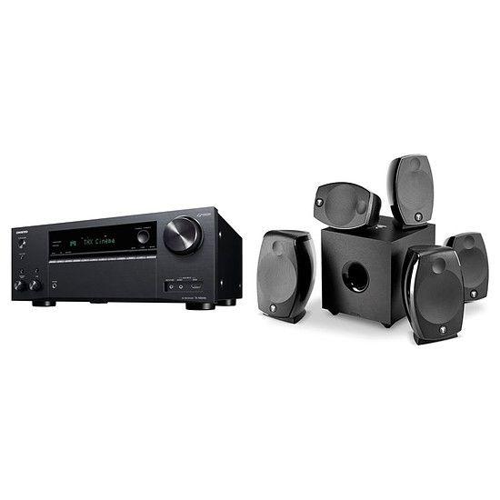 Amplificateur Home-cinema 7.2 Onkyo TX-NR696 + enceintes Focal Sib Evo 5.1.2 Dolby Atmos