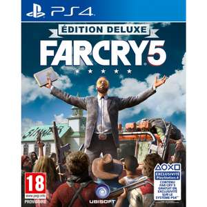 Far Cry 5 - Edition Deluxe sur PS4