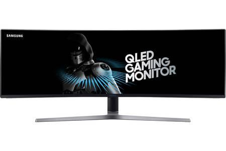 "Ecran PC 49"" Samsung LC49HG90DMUXEN - QLED, 32:9 (3840 x 1080), Dalle VA, FreeSync, 144 Hz, 1 ms (via ODR 100€)"