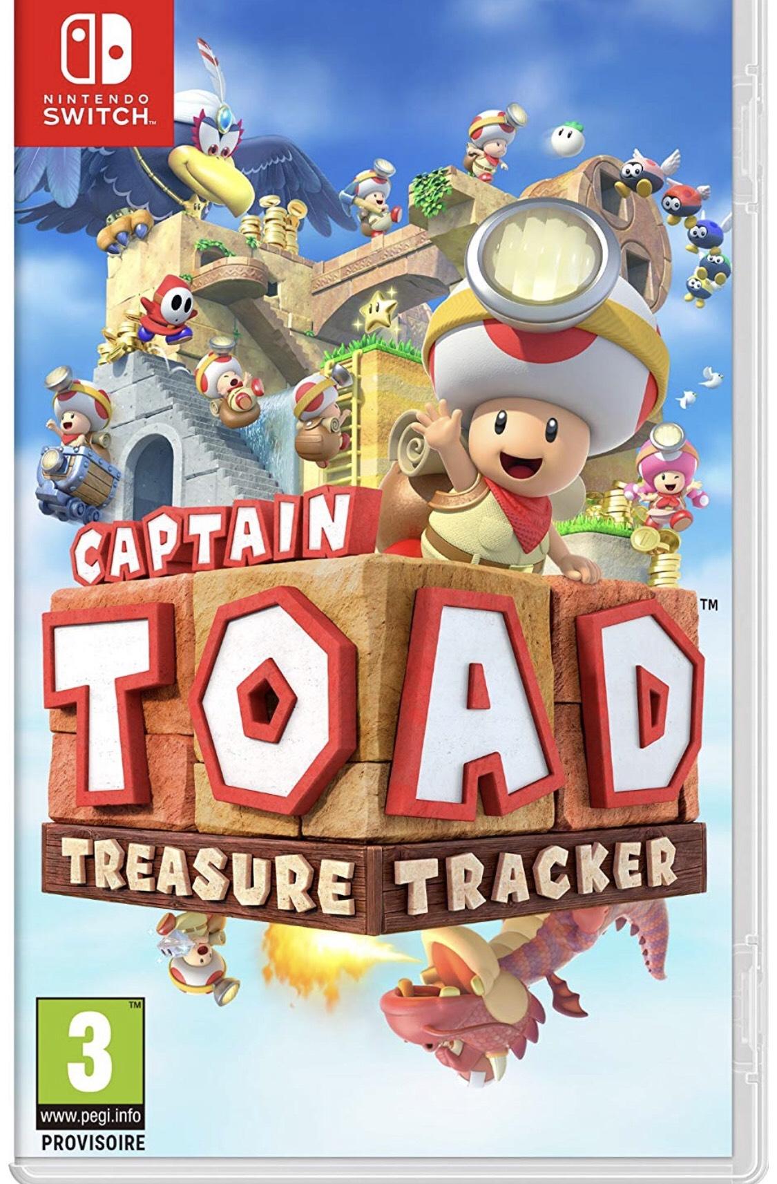 Captain Toad Treasure Tracker sur Nintendo Switch