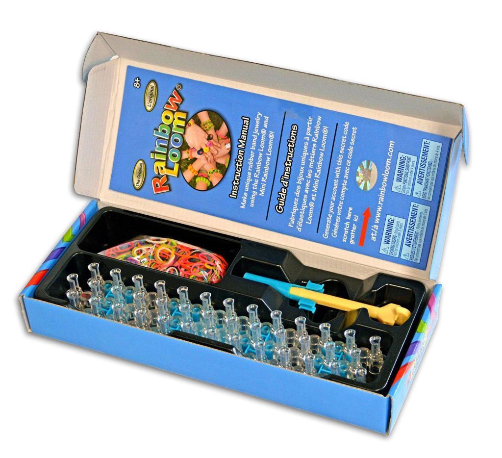 [Panier Plus] Kit De Démarrage Rainbow Loom, l'original - Kit De Loisirs Créatifs (001bis)