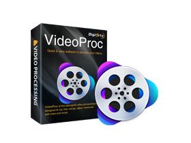 Licence à vie pour de montage vidéo VideoProc sur PC et MAC (Dématérialisé)