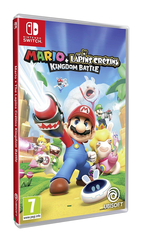 Sélection de jeux vidéo Ubisoft sur Switch à 20€ - Ex : Mario + Lapins Crétins Kindgom Battle