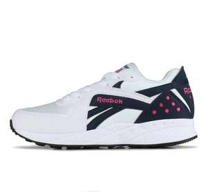 Sneakers hommes Reebok Pyro - Taille aux choix, Blanc / Marine / Rose