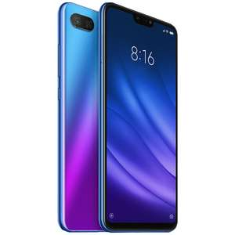 "Smartphone 6.26"" Xiaomi Mi8 Lite - full HD+, SnapDragon 660, 6 Go de RAM, 128 Go, 4G (B20/B28), bleu (PAYPAL)"