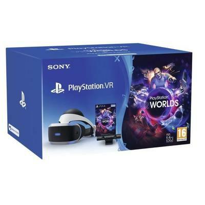 [CDAV] Pack casque de réalité virtuelle Sony PlayStation VR V2 MK4 + caméra PlayStation V2 + VR Worlds