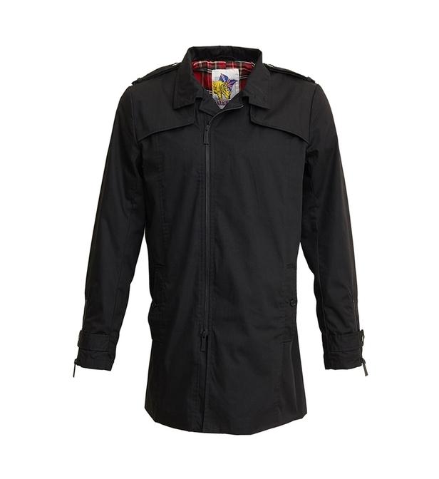 Veste trench avec fermeture zippée Harrington - bleu ou noir, du S au XL (vendeur tiers))