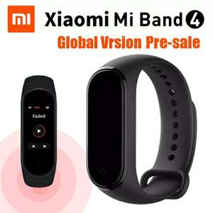 Bracelet connecté Xiaomi Mi Band 4 - Bluetooth 5.0, noir, Version chinoise