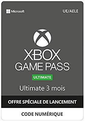 Abonnement 3 mois au service Xbox Game Pass Ultimate (Dématérialisé)