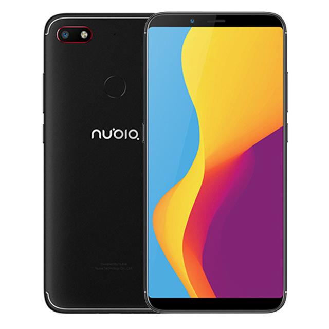 "Smartphone 6.01"" ZTE Nubia V18 - Full HD+, SnapDragon 625, 4 Go de RAM, 64 Go, 4G (B20), Noir"