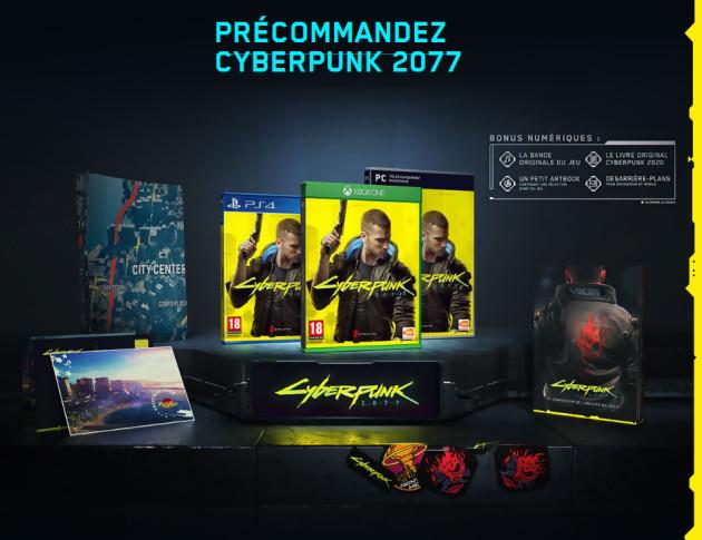 [Précommande] Cyberpunk 2077 Edition Day One + Steelbook exclusif à 59.99€ sur PC & à 69.99€ sur PS4 / Xbox One