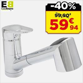 Jusqu'à 40% de réduction sur une sélection d'articles - Ex : Mitigeur évier à douchette