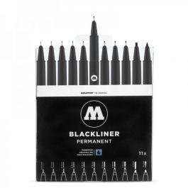 Set complet de feutres fins noirs Molotow Blackliner (urban-painters.com)