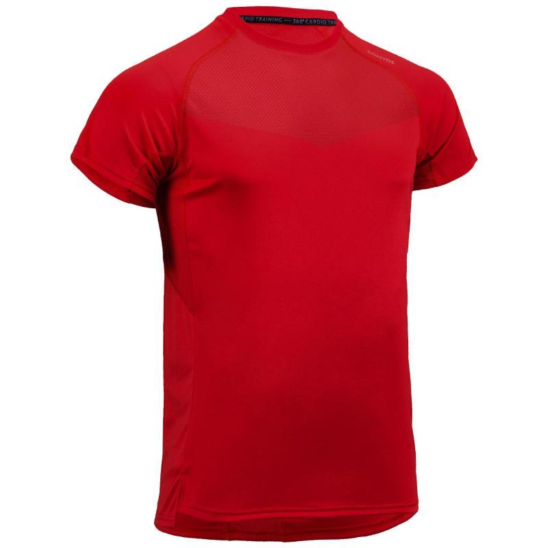 T-shirt de sport Domyos Cardio Fitness FST 120 - Tailles du S au 3XL