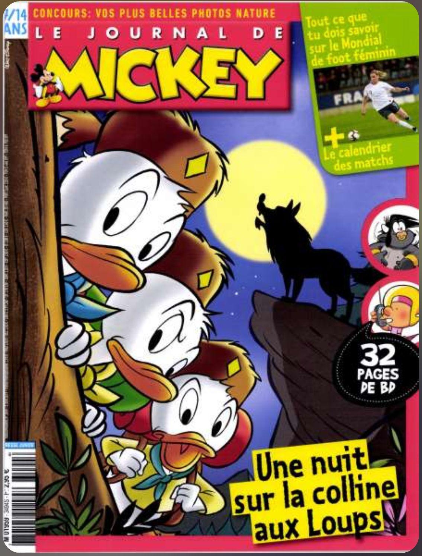 Abonnement de 7 mois (30 numéros) au Journal de Mickey