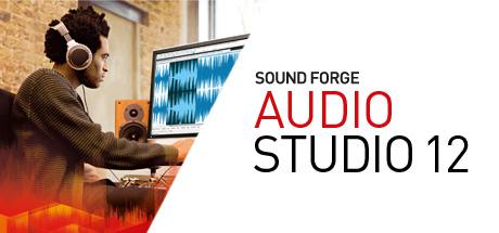 Logiciel audio Sound Forge Audio Studio 12 Steam Edition