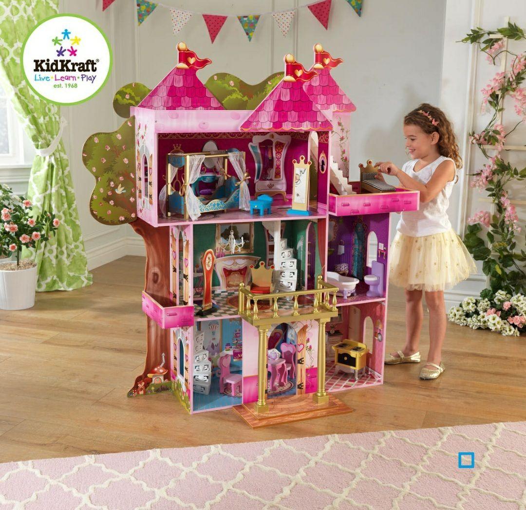 Maison de poupée KidKraft Storybook Conte de fées - En bois
