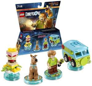 Figurine Lego Dimensions - Team Pack 71206 : Scooby & Shaggy