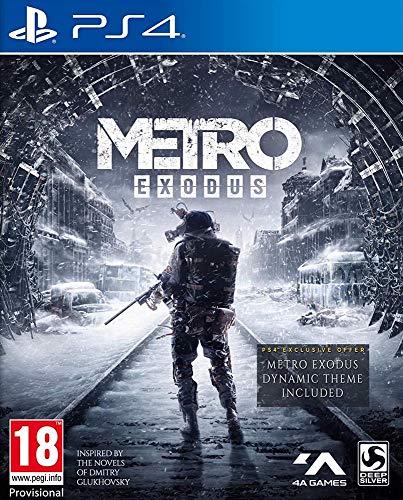 Metro Exodus sur PS4 (Vendeur Tiers)