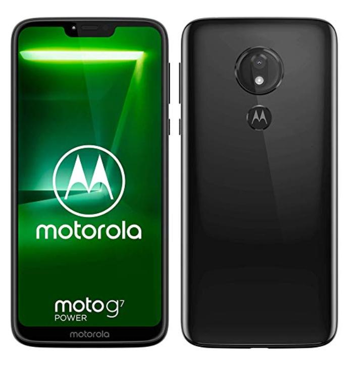 "Smartphone 6.2"" Motorola Moto G7 Power - RAM 4Go, 64Go"