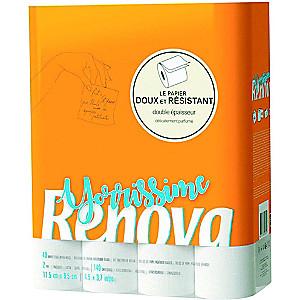 Selection d'articles en Promotion - Ex: Lot de 40 Rouleaux de Papier Toilette Renova Yorrissime (Via 7,77 € en Bon d'achat) - Albi (81)