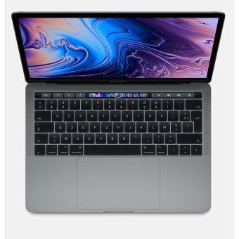 """Ordinateur Portable 13.3"""" Apple MacBook Pro 2019 - Touch Bar, 256 Go SSD, 8 Go RAM, Intel Core i5 quadricœur à 2.4 GHz, Gris sidéral"""