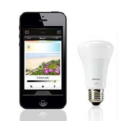 Ampoule Philips Hue  LED E27 60W connectée Lux