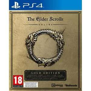 The Elder Scrolls Online Edition Gold sur PS4