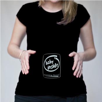 T-shirt Grossesse Anniversaire Maternité Col R - T-S.fr