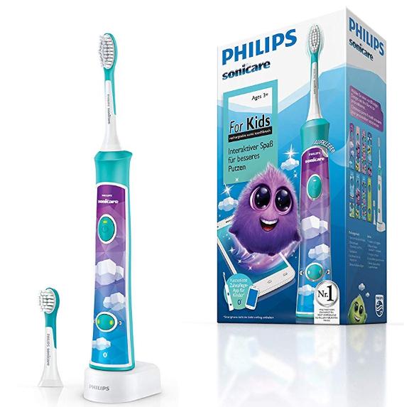 Brosse à Dents Electrique connectée sans-fil Philips Sonicare HX6322/04 pour Enfants - Bluetooth