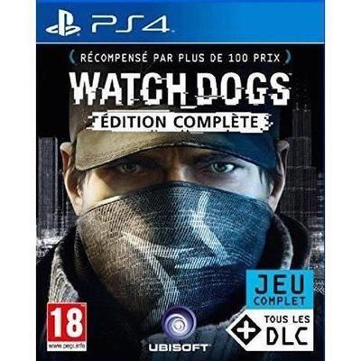 Jeu Watch dogs sur PS4 - edition complète (vendeur tiers)